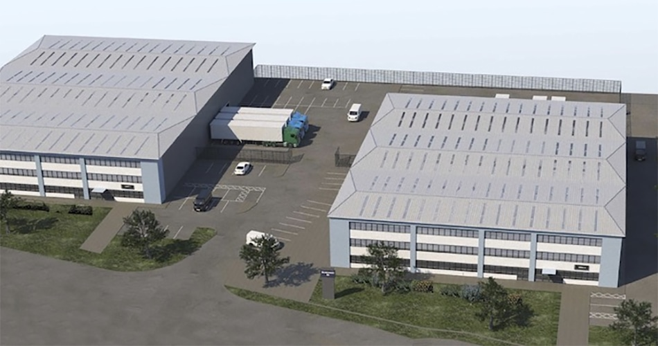 Kier Property and Test Valley Borough Council industrial scheme starts on site